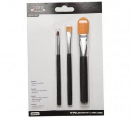Pack de 3 pinceaux de Maquillage