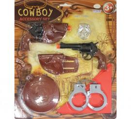 Set de accesorios de sheriff para niños
