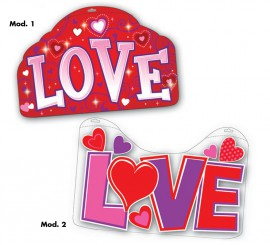 Panneau décoratif Love 2 modèles