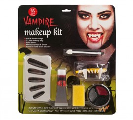 Set de Maquillaje de Vampira Deluxe para adultos