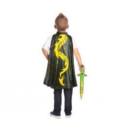 Set infantil Cazador de dragones: Capa y Espada