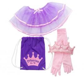 Set infantil de Princesa en mochila