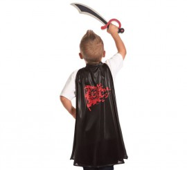 Set infantil Pirata aventurero: Capa y Espada