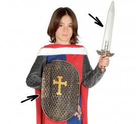 Set Medieval: Escudo y espada para niños
