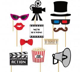 Set para Photocall cine 12 Pcs