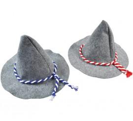 Sombrero Bávaro Gris para adultos en 2 colores