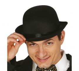 Sombrero Bombín negro