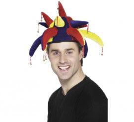 Sombrero de Bufón con campanillas. Talla. Universal Adulto 9be6255a539