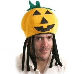 614ae0461d29c Gorros y Sombreros para Disfraces de Calabaza Halloween
