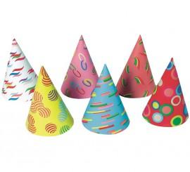 Sombrero de cartulina en modelos surtidos