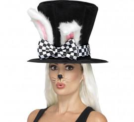 Sombrero de copa con orejas de Conejita