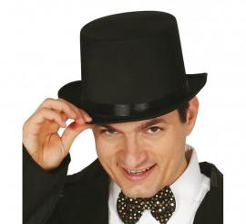 Sombrero de copa o chistera negra