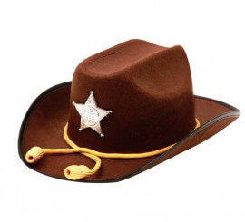 7f2aa8ec162ad Sombrero Salvaje Oeste de Cowboy para hombre o mujer
