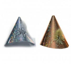 Sombrero mediano metalizado en varios colores