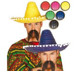 Sombrero Mejicano 45 cm en varios colores