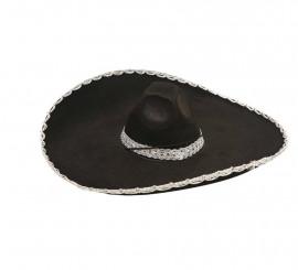Sombrero Mejicano o Mariachi negro de fieltro