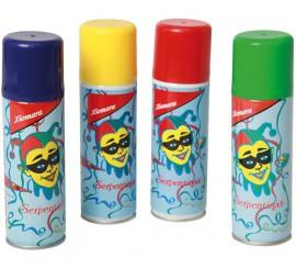Spray de Serpentina de 175 cl en colores surtidos