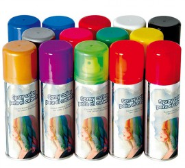 Spray para Cabello 125 ml de colores surtidos