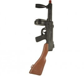 Subfusil Thompson de Gánster de 70 cm