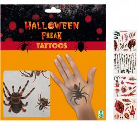 Tatuajes en 5 modelos surtidos