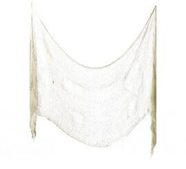 Tela espeluznante Blanca 75x300cm