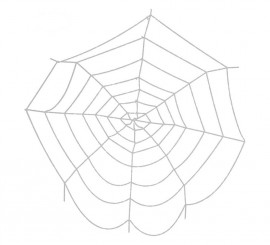 Telaraña blanca de 300 X 300 cm
