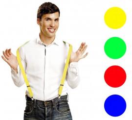 Tirantes en varios colores