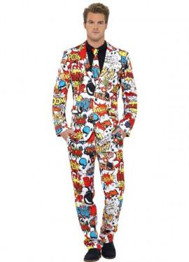 Déguisement Costume Cravate BD pour homme plusieurs tailles