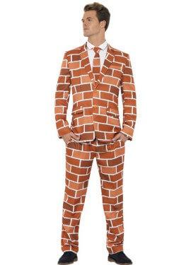 Déguisement Costume Cravate Dessin Mur pour homme plusieurs tailles