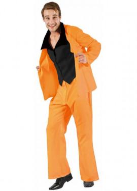 Traje Divertido Naranja para hombre