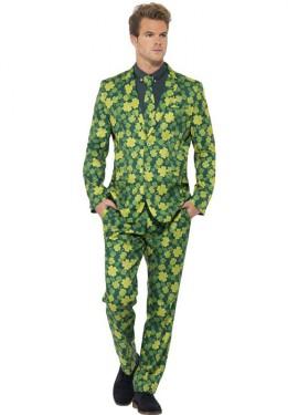 Déguisement Costume Cravate Trèfles pour homme plusieurs tailles
