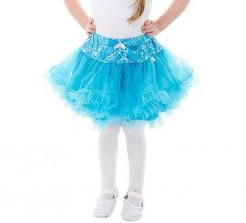 Tutú azul Princesa del Hielo para niña