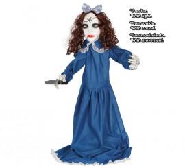 Vampiresa con Cuchillo Luz, Sonido y Movimiento 90 Cm