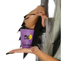 Vaso de Bruja para Halloween de 11 cm