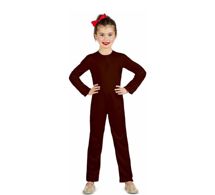 Maillot o Mono de punto Marrón para niños