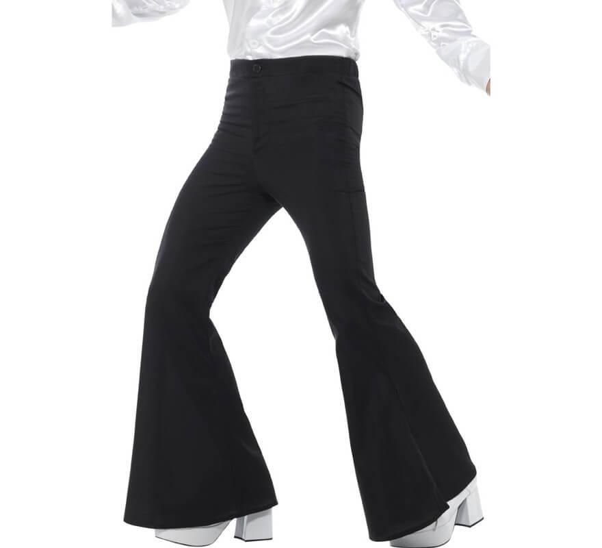 8c3bb6d749e Pantalones de Campana Negros para hombre