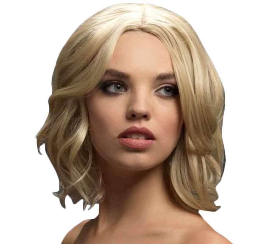 Perruque Olivia Blonde courte