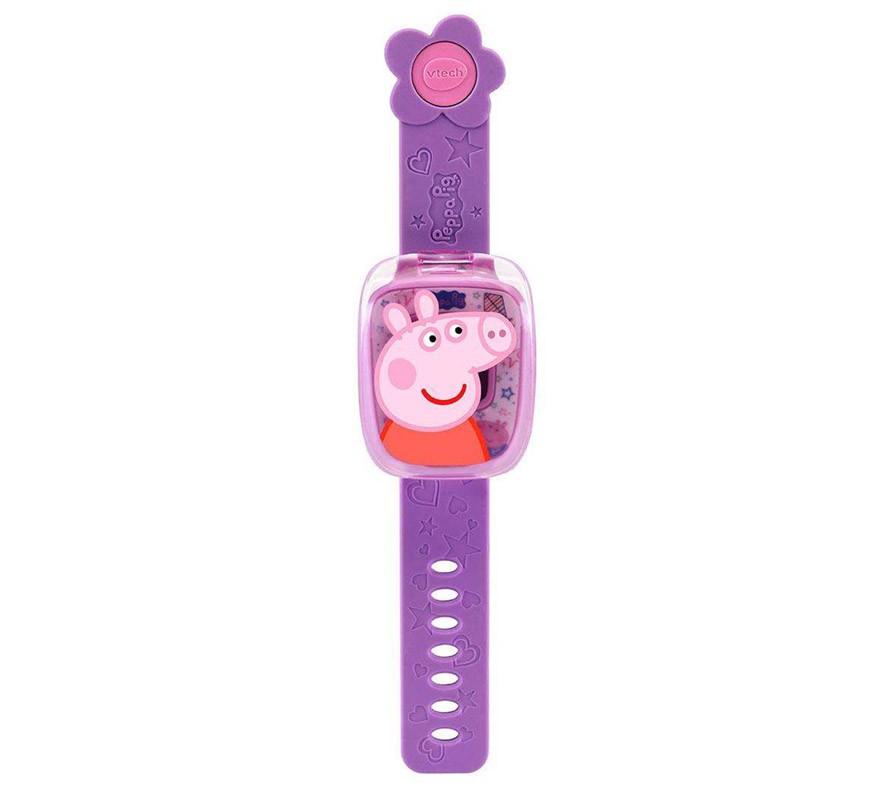 Reloj Con Juegos Peppa Pig Y Voz Original De Peppa 3 6 Años