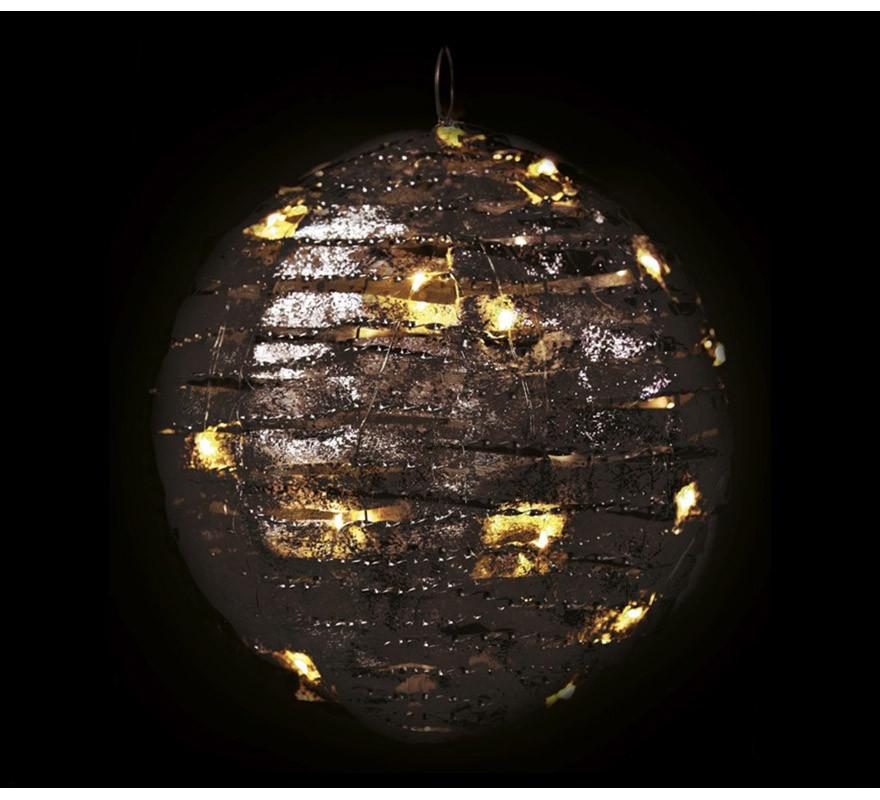 Bola de 20 Led de Tela con Luz de 20 cms-B