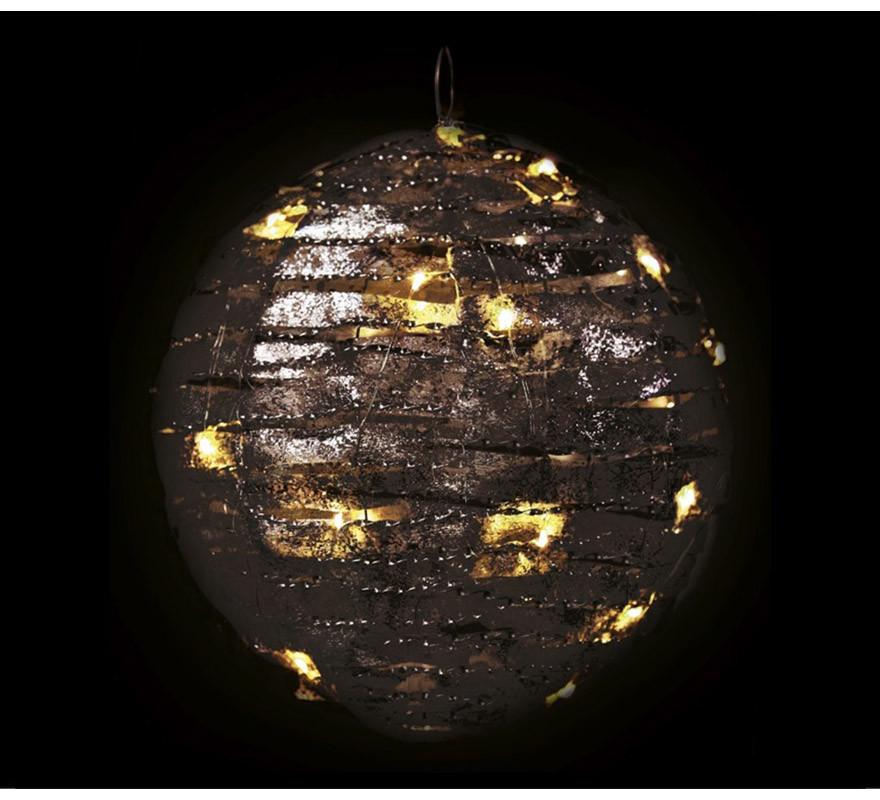 Bola de 30 Led de Tela con Luz de 25 cms-B