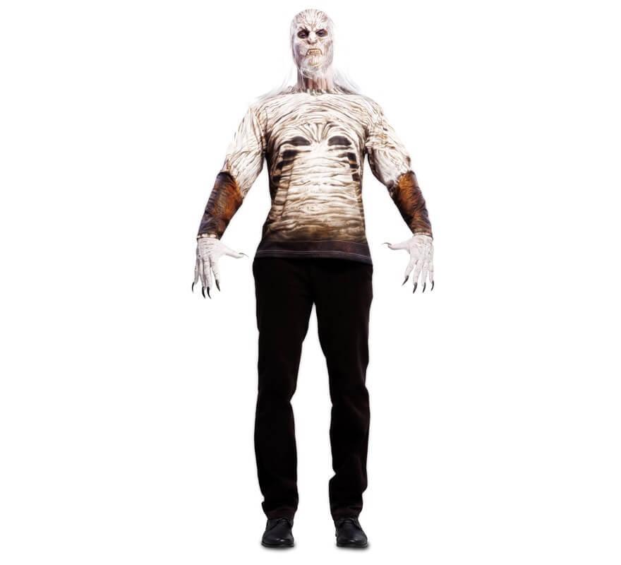 Camiseta disfraz de Zombie Nocturno para hombre-B
