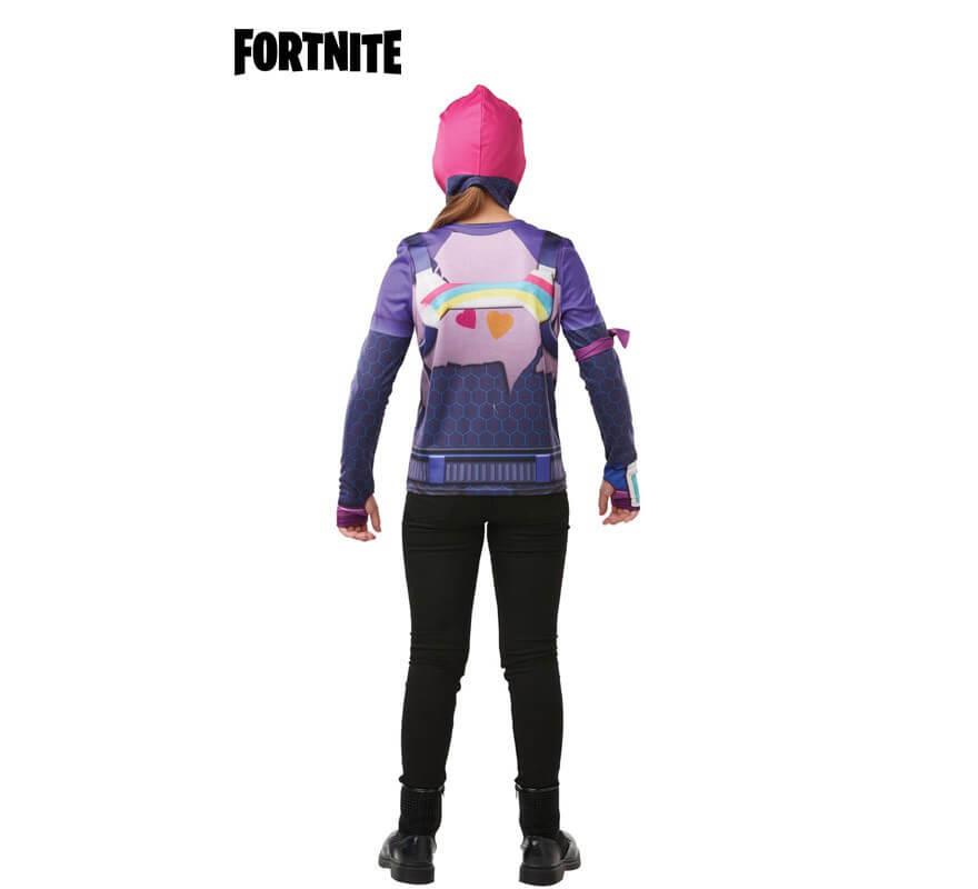 Camiseta Disfraz con Capucha Brite Bomber Fortnite para niña y adolescente-B