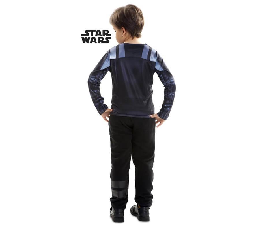Camiseta disfraz Darth Vader de Star Wars para niño-B
