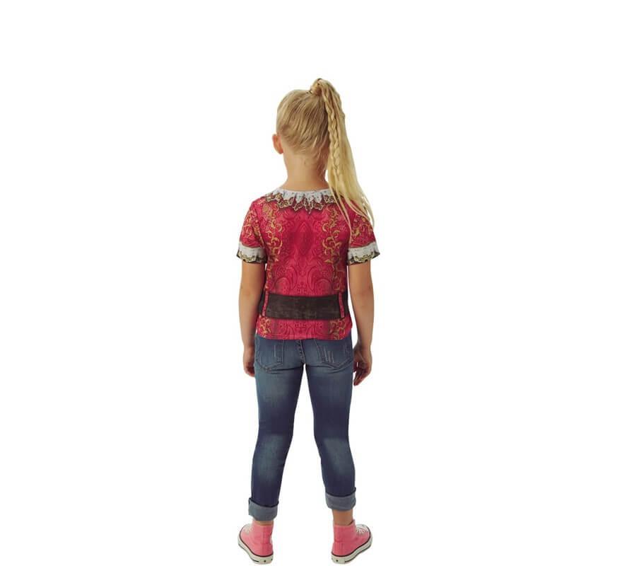 Camiseta Disfraz de Bucanera para niña-B