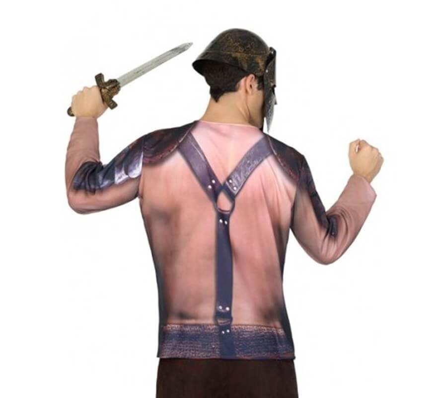 Camiseta disfraz de Gladiador para hombre-B