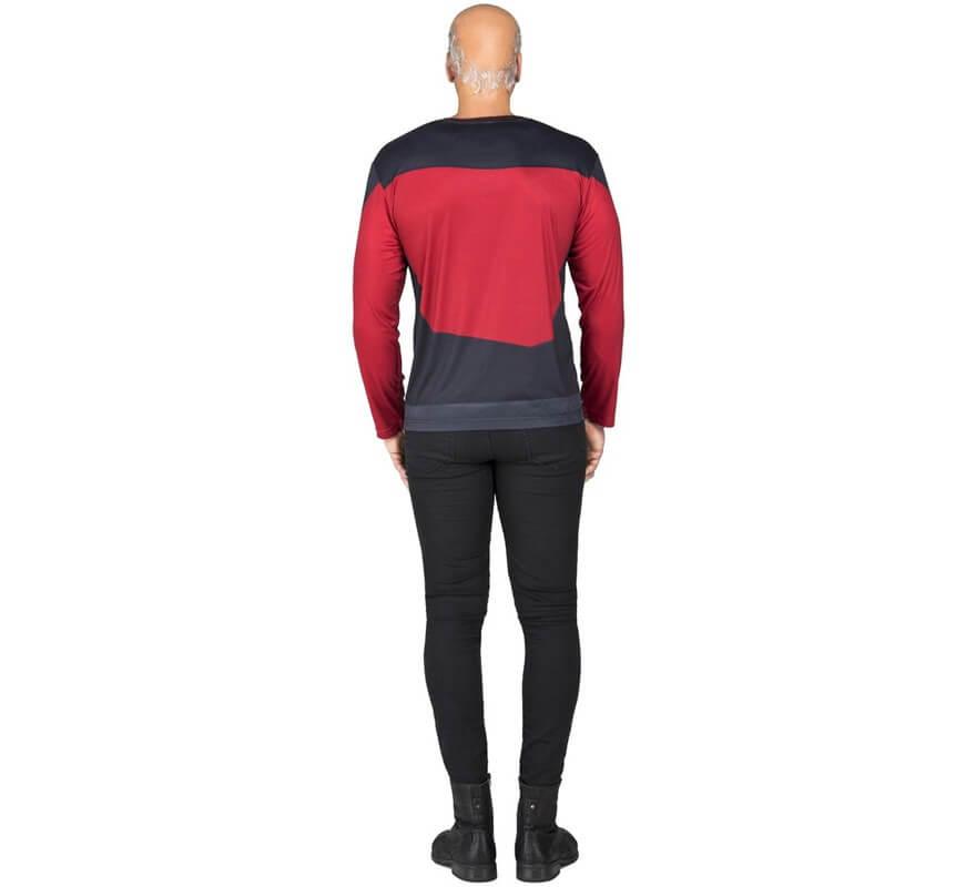 Camiseta Disfraz de Picard de Star Trek para hombre-B