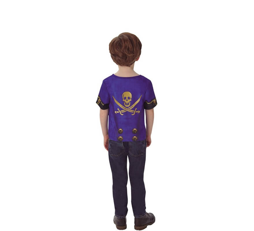 Camiseta Disfraz de Pirata para niño-B