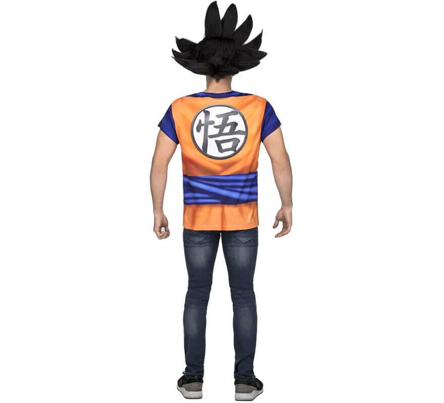 Camiseta Disfraz de Son Goku de Dragon Ball para hombre-B
