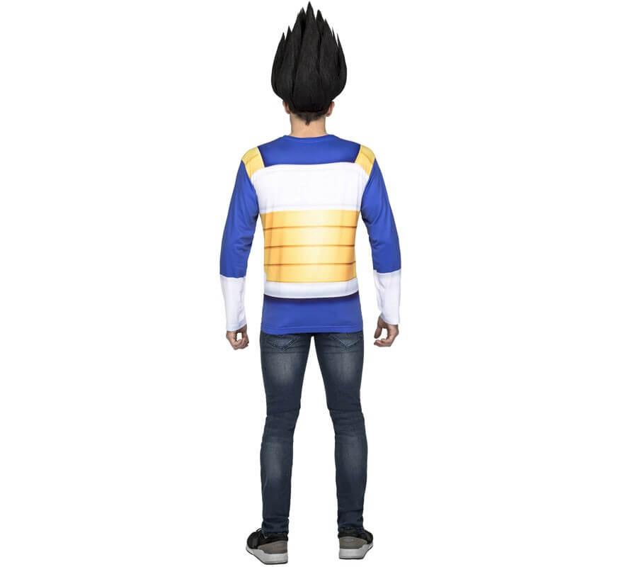 Camiseta Disfraz de Vegeta de Dragon Ball para hombre-B