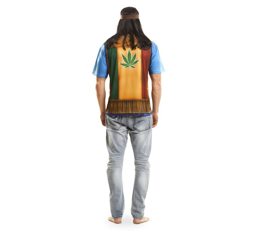 Camiseta disfraz hippie para hombre-B